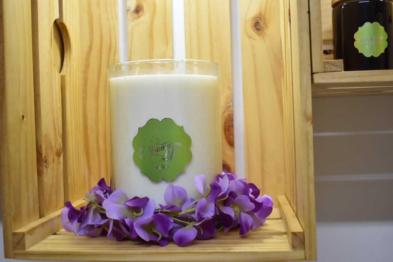 velas decorativas aromatizadas