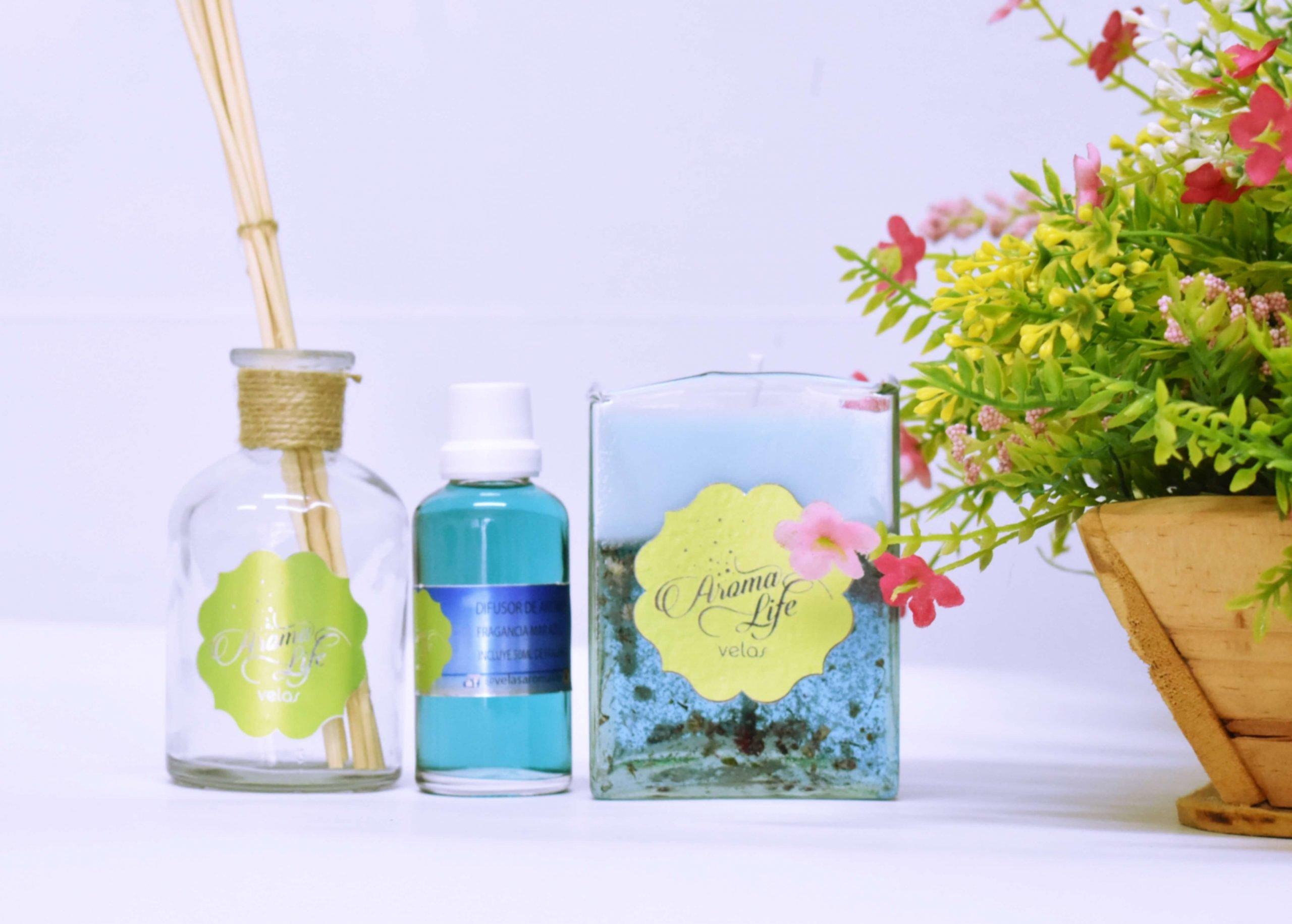 velas decorativas aromaticas aromatizadas aromalife cali